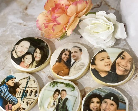 6pc Personalized Cookie Gift Box